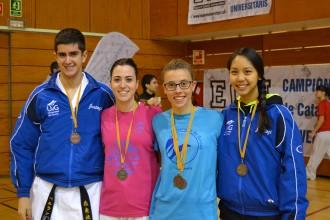 Dues medalles per la karateca de Breda Sara Ortiz