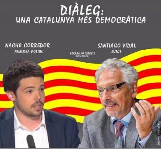 Santi Vidal i Nacho Corredor, cara a cara moderats per Mascarell