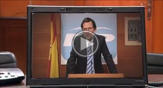 El Rajoy de «Polònia» també vol el seu vídeo viral d'«el caloret»