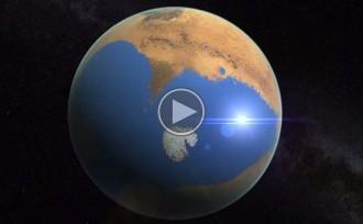 La NASA creu que Mart va tenir més aigua que l'oceà Àrtic