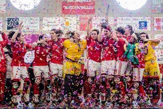 El Benfica guanya la Copa d'Europa d'hoquei patins femení a Manlleu