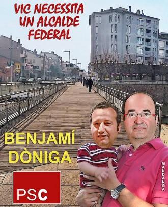Miquel Iceta apadrina Benjamí Dòniga