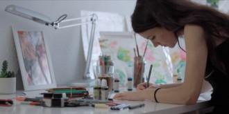 Lara Costafreda: «He fet més de 1.000 dibuixos en un any, no sé quin és el millor»