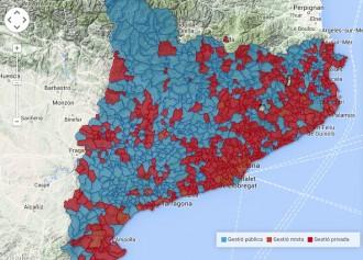 Vés a: La gestió privada de l'aigua afecta al 82,8% de la població catalana