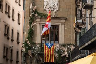 La Junta Electoral Central ordena retirar les estelades dels espais públics