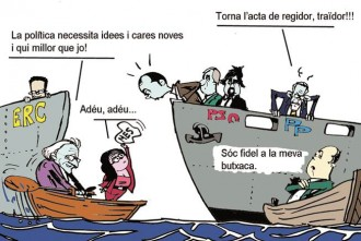 Vaixells a la deriva i polítics que naufraguen