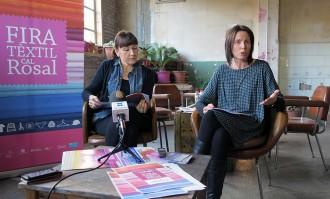 La Fira Tèxtil de Cal Rosal s'amplia i estrena un espai dedicat a la moda