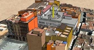 Les 37 colles que participaran a la primera pedra del Museu Casteller