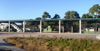 Dilluns s'inaugura la planta de pretractament i compostatge del dipòsit comarcal de residus del Consell Comarcal