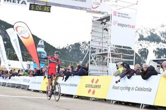 Van Garderen repeteix victòria a l'etapa reina de la Volta Catalunya
