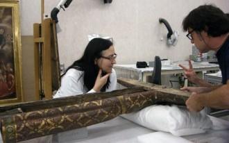 Vés a: La Majestat romànica de la Pobla de Lillet torna restaurada a casa