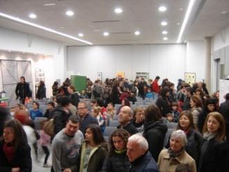 Inauguració de l'exposició 'L'escola pública té llum'