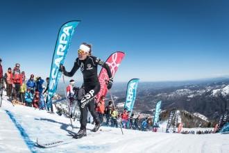 Laura Orgué debuta a la Copa del Món d'«skimo» amb un segon lloc