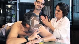 En Hansi del «Solisombra» rep un massatge molt especial