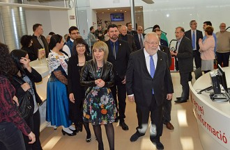 Sant Vicenç estrena la nova Biblioteca Espai Ateneu