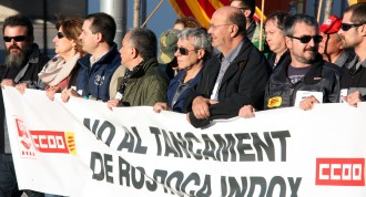 Tàrrega es mobilitza contra el tancament d'Indox