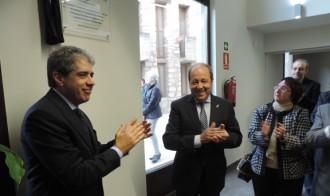 Francesc Homs inaugura la remodelació de l'ajuntament de Sarral