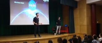 Un experiment de dos estudiants vendrellencs anirà a l'espai en un coet