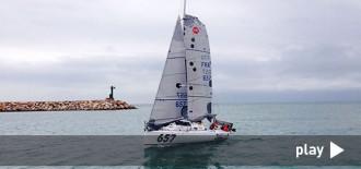 Tot i el mal temps, Guillermo Cañardo es classifica per la regata Mini Transat