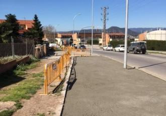 Comencen les obres de millora de la seguretat i la mobilitat als barris