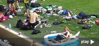 El SalouFest posa en perill la gespa de l'Estadi Municipal de Reus