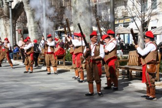 El so dels trabucs de Solsona ressona a Figueres en la 33a Trobada Nacional de Trabucaires