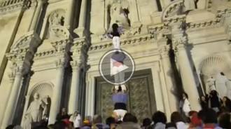 Vés a: El vídeo casteller que va motivar un equip de bàsquet de Salamanca