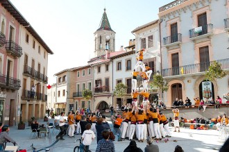 Viladrau renova la plaça Major de dalt a baix