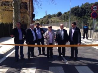 Sant Antoni i Sant Pere de Vilamajor inauguren el camí de La Farinera