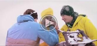 L'alpinista Ueli Steck i Kilian Jornet, cara a cara en un divertit anunci