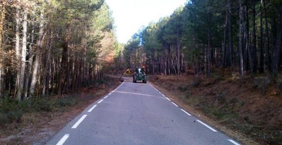 Finalitzats els treballs de manteniment de la xarxa de camins d'interès comarcal