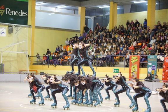 El Girona queda quart al campionat europeu de patinatge