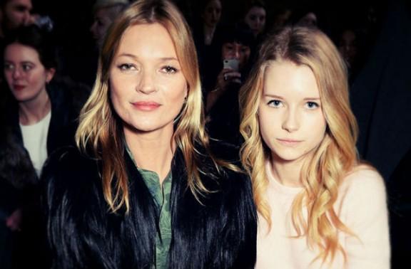 La germana de la top model Kate Moss ja desfila amb només 17 anys! [FOTO]