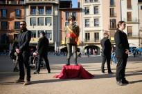 Vés a: L'Ajuntament de Vic es compromet a retirar un dels últims vestigis franquistes