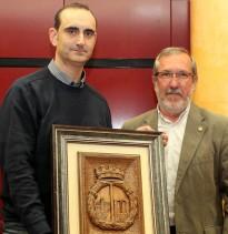 Reconeixement al Trail Roquetes en la celebració dels 165 del naixement com a municipi