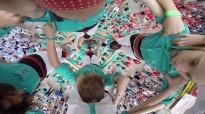 Participants d'un «reality» xinès faran de castellers a Vilafranca del Penedès