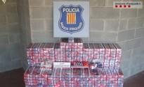 Desmantellat a Sort un grup criminal dedicat al contraban de tabac