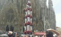 Els Xics de Granollers completen el 4 de 8 a la Sagrada Família
