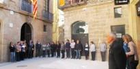 Vés a: Més de 200 persones es concentren a Solsona en el minut de silenci en record del Rubén