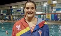 Paula Leitón, convocada amb la selecció espanyola de waterpolo