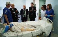 El Conseller Ruiz destaca el valor de la simulació en la formació sobre salut