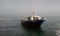 Remolcat un pesquer d'arts menors de la Ràpita que es trobava a la deriva al delta de l'Ebre
