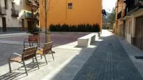 Sant Joan amplia la plaça Comamala a la Vila Vella