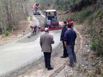 Iniciades les obres de condicionament de camins per a la prevenció d'incendis forestals