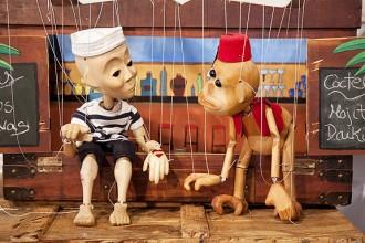 Les marionetes de «Jai el mariner» desembarquen a Santpedor