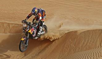 Marc Coma està a un pas de la victòria a Abu Dhabi
