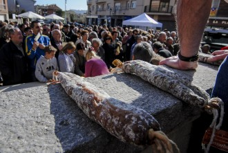 L'Aplec dels Ous de Balenyà bateja el grup de caramelles del poble