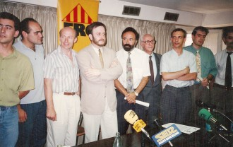 Fotos: 1991, aquella primera ERC independentista