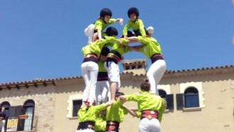 Els Minyons de Santa Cristina estrenen el verd poma amb el 5de6