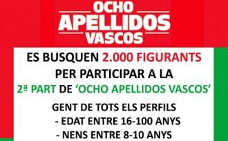 L'èxit de la crida fa ampliar els càstings de la segona part de «Ocho apellidos vascos»